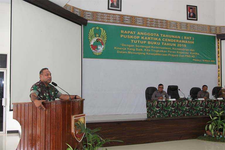 Pangdam XVII/Cenderawasih Mayjen TNI Herman Asaribab