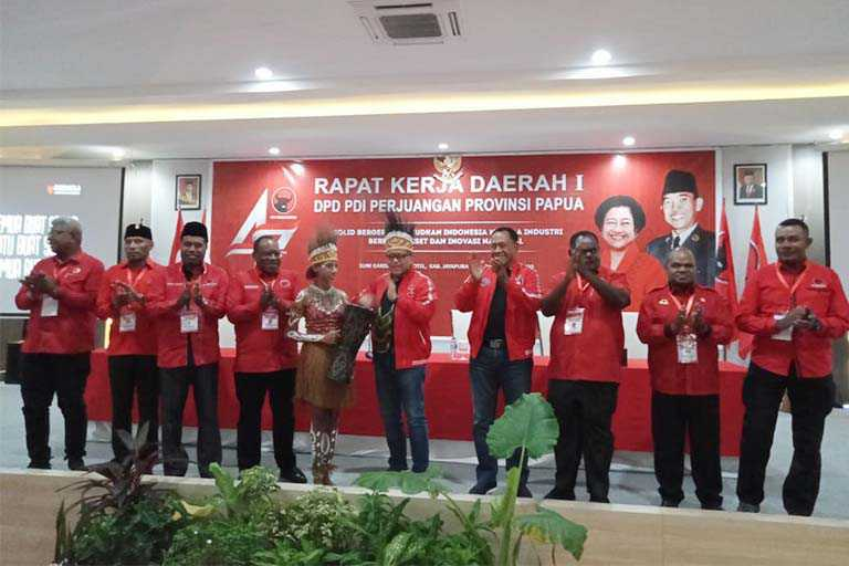 DPD PDIP Papua Gelar Rakerda Jelang Pilkada Serentak