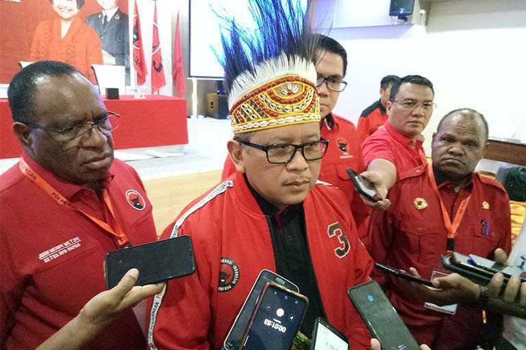 PDIP Papua Bakal Ikut Pemilihan di 9 Kabupaten