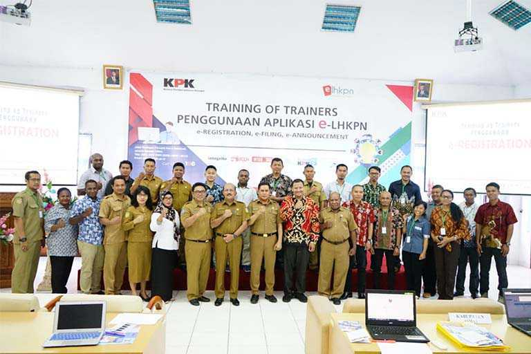 Kominfo dan KPK Gelar Training of Trainers