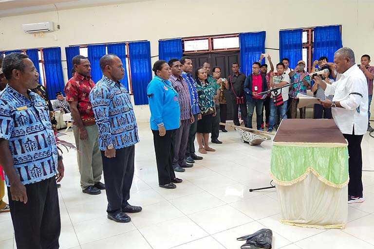 Ketua DKTP Kabupaten Jayapura