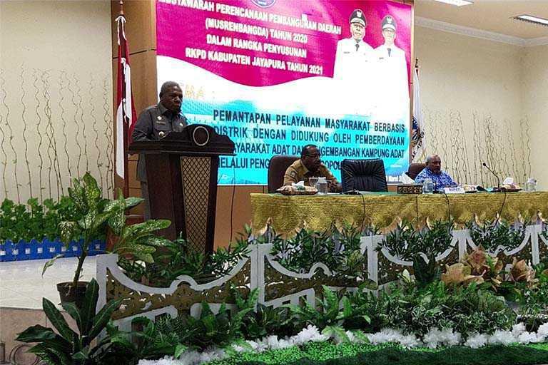 Pemkab Jayapura Gelar Musrenbang 2020