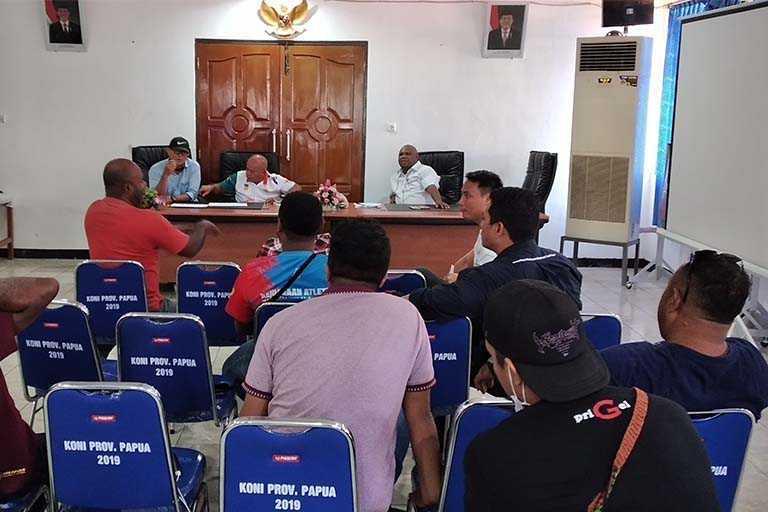 Humas PB PON Papua Gelar Rapat Perdana