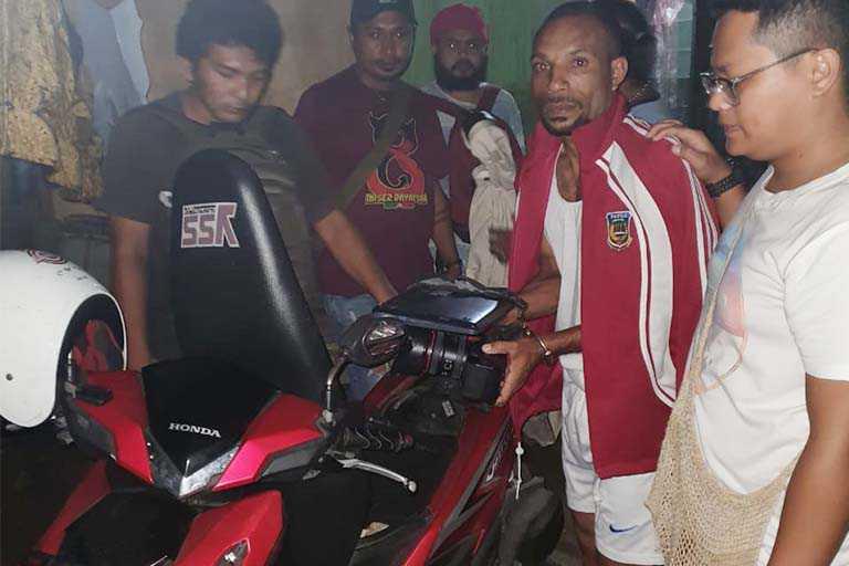 pencurian barang wartawan di jayapura