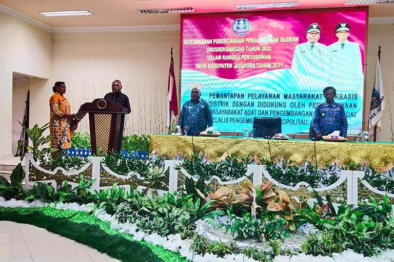 Musrenbang RKPD pemkab jayapura