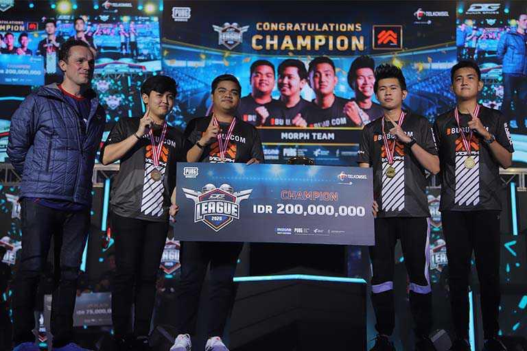 Pemenang turnamen eSport Dunia Games League 2020