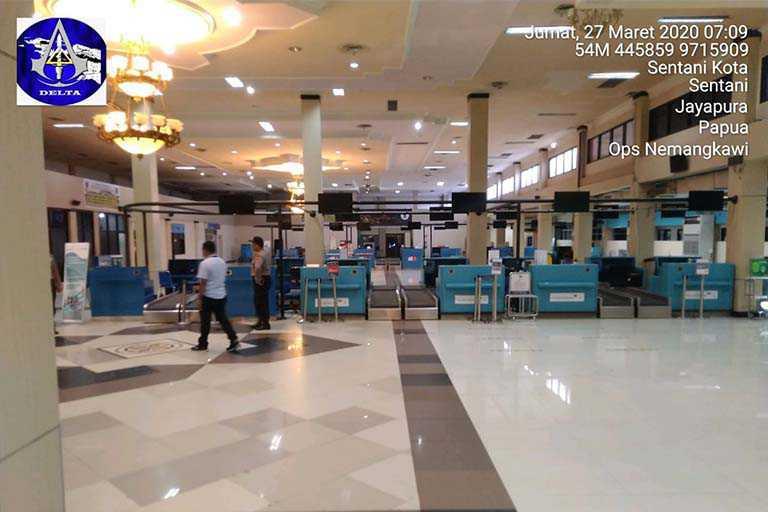 Bandara Sentani Tetap Beroperasi