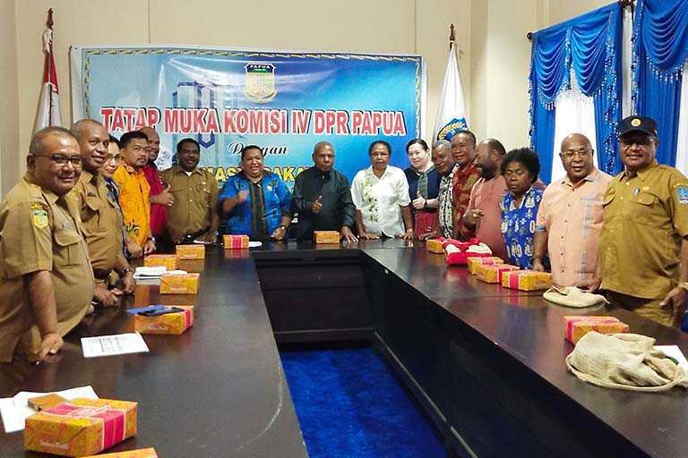 Pastikan Kesiapan PON XX Komisi IV DPRP Kunjungi Pemkab Jayapura