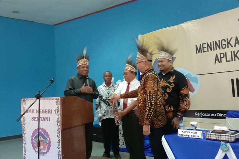 Kominfo Kabupaten Jayapura Gelar Sosialisasi Aplikasi Berbasis Internet