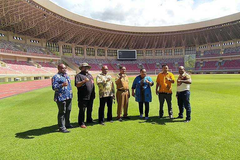 relokasi warga stadion papua bangkit