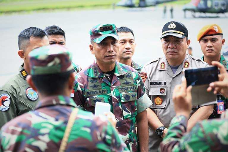 TNI Kuasai Markas KSB Di Oksibil