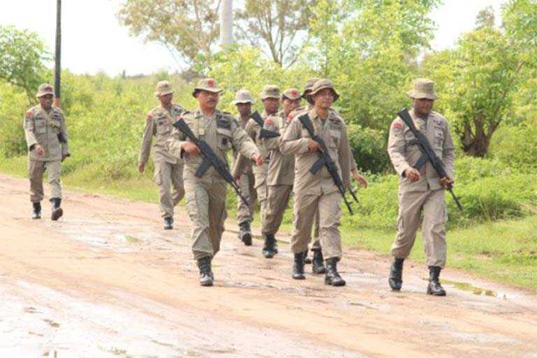 Brimob Polda Papua Batalyon D Pelopor
