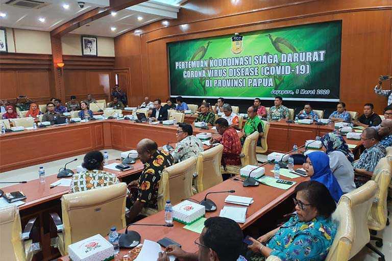Cegah Virus Corona, Pemerintah Batasi Orang Masuk ke Papua