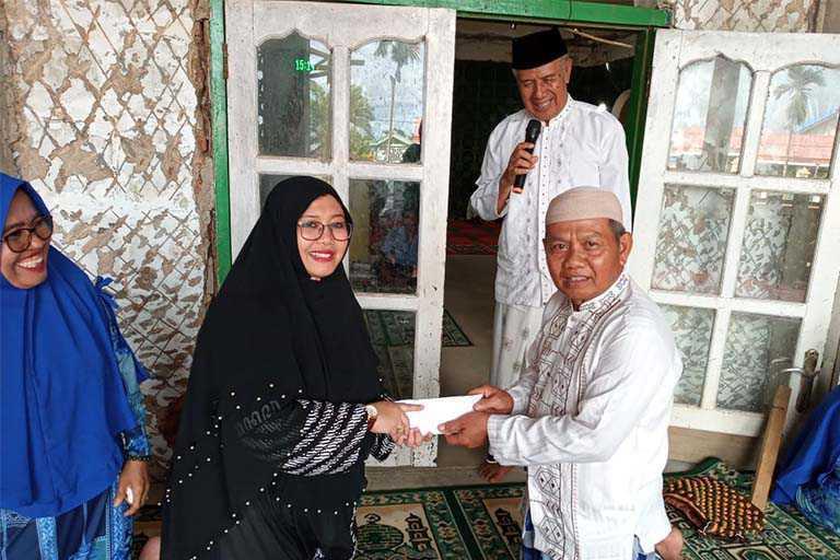 kunjungan Anggota DPR Papua Fauzun Nihayah ke merauke