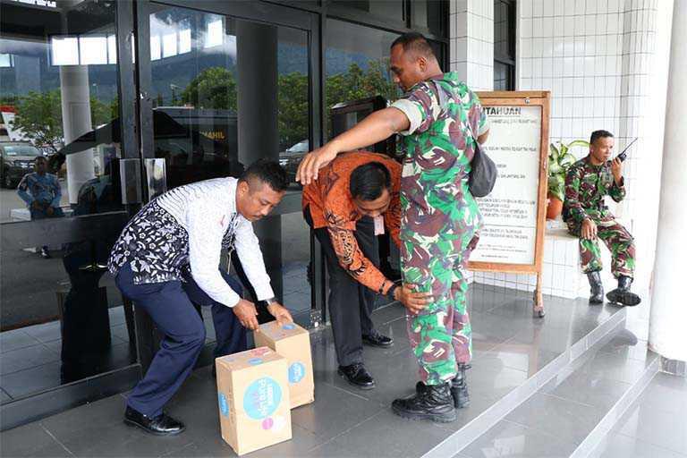 Lanud Silas Papare Ikut Latihan Kesiapsiagaan Pengamanan VVIP
