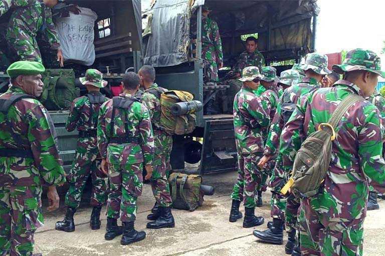 Anggota Satgas TMMD Ke-107 Diberangkatkan Ke Mappi