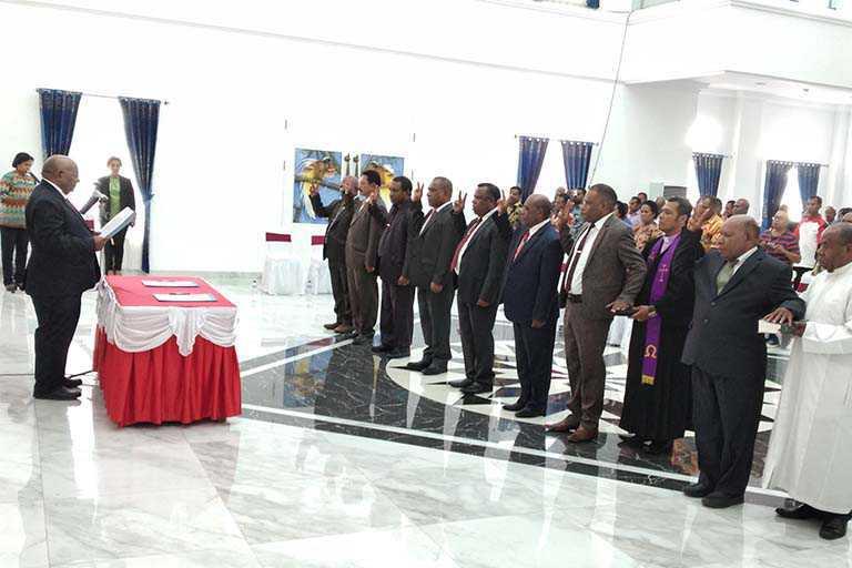 Wagub Lantik 7 Kepala OPD Papua