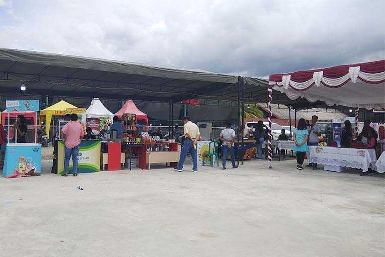 HUT Kota Jayapura ke 110 tahun Pasar Rakyat Port Numbay