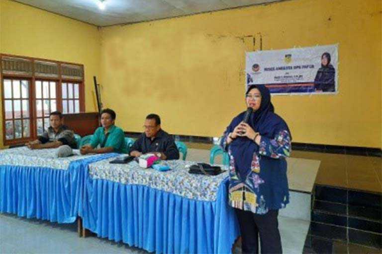 Kampung Sidomulyo Dikunjungi Anggota DPRP Fauzun Nihayah