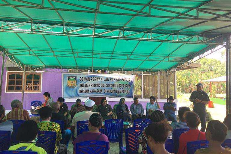 Pantau Persiapan PON Komisi II DPR Papua