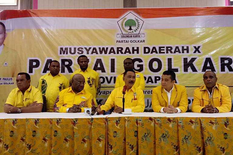 Golkar Papua Mengusung Prinsip Tanpa Mahar