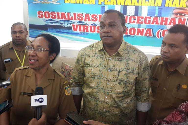 Sikapi Covid-19 Komisi V DPR Papua Berencana Kunjungi Rumkit Rujukan