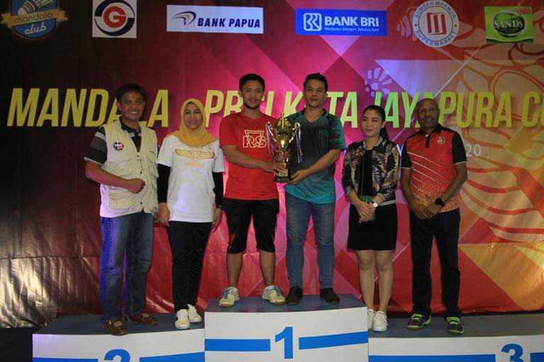 PB MTBP Juara Umum Kejurda Bulutangkis Mandala Cup II