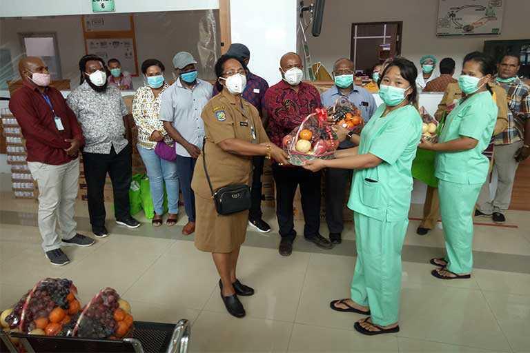 Bantuan untuk RSUD Jayapura