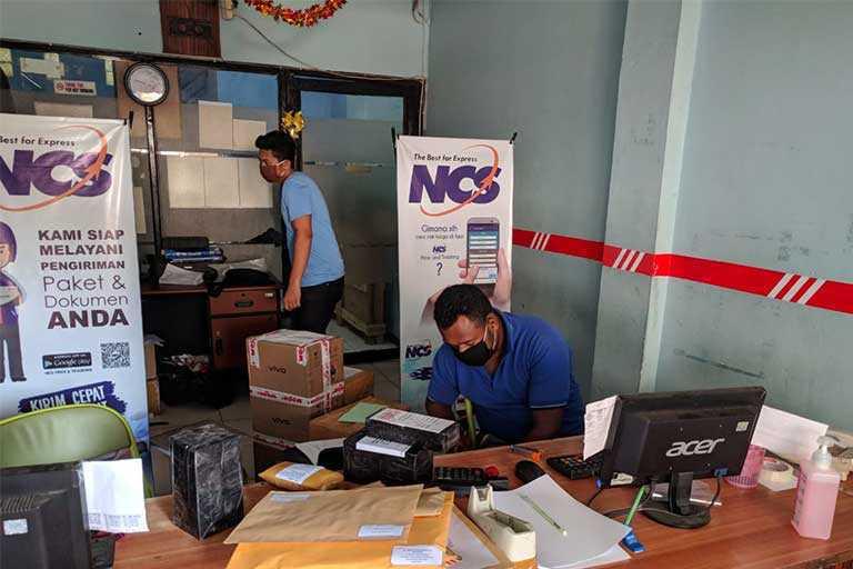 Bisnis Jasa Kurir di Jayapura