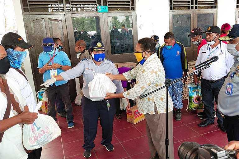 Dishub Kabupaten Jayapura Lakukan Rapid Test