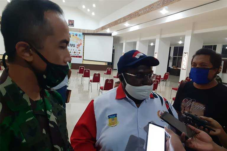 Anggaran Koni Papua Dipotong