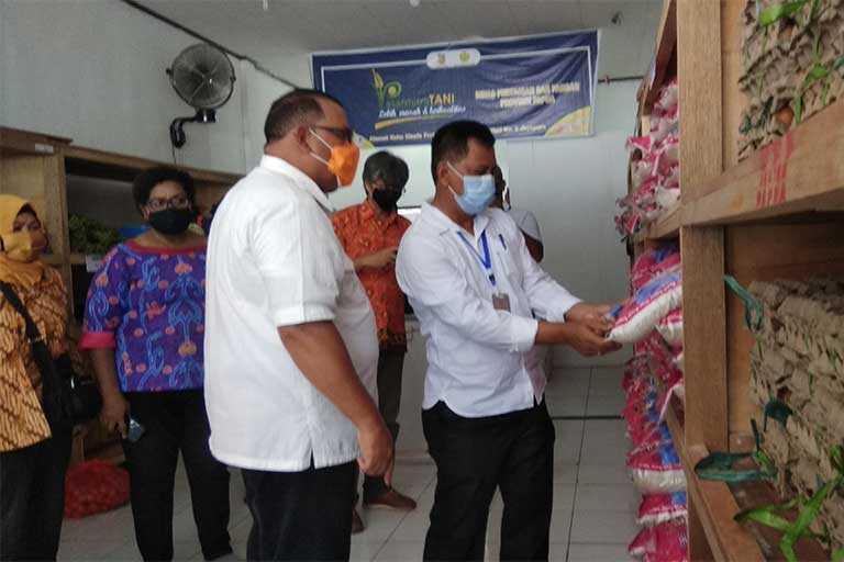 Pemprov Papua Gelar Pasar Tani