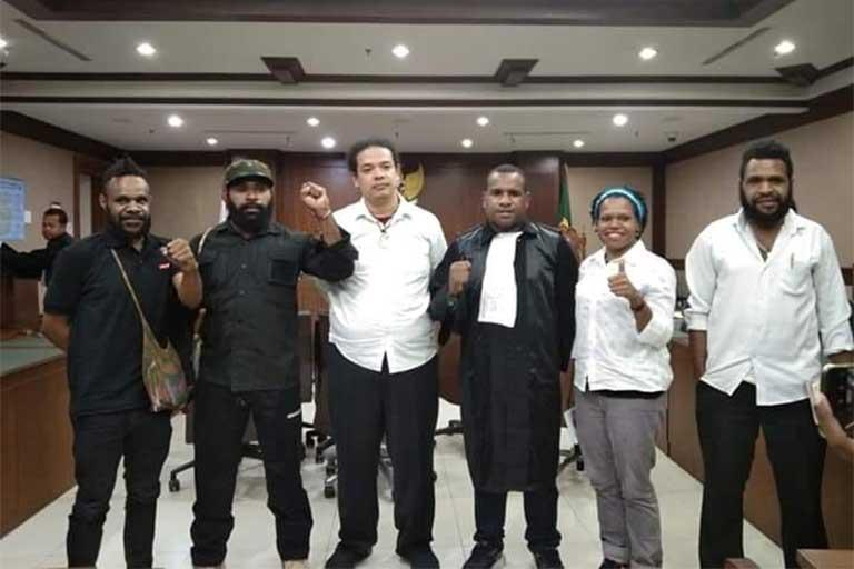 Lima Tahanan Politik Papua Dibebaskan