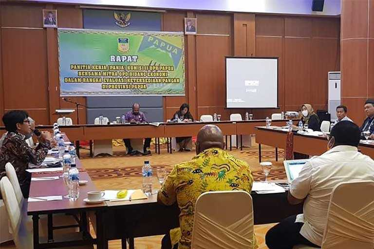 Komisi II DPR Papua