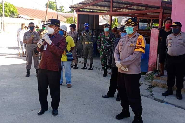 Wakil Walikota Jayapura Imbau Warga Agar Ikut Rapid Test