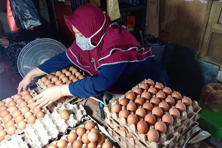 Telur Ayam dari Jatim Tiba di Jayapura