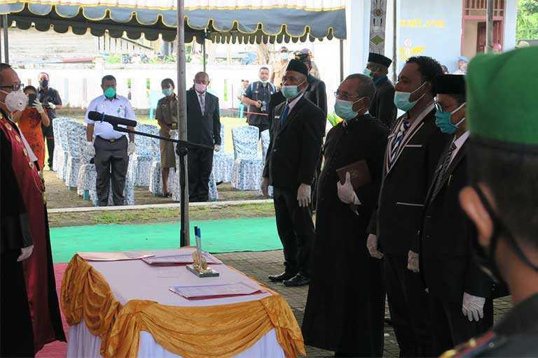 pelantikan Anggota DPRD Waropen