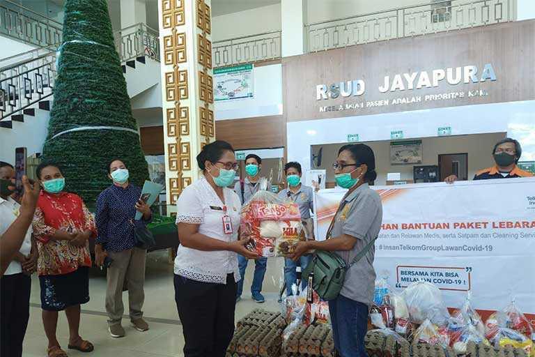 Rumah Sakit di Jayapura Dapat Bantuan dari Telkom