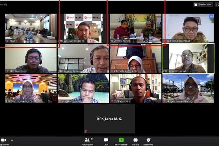 KPK Dorong Pemda Papua Benahi Data