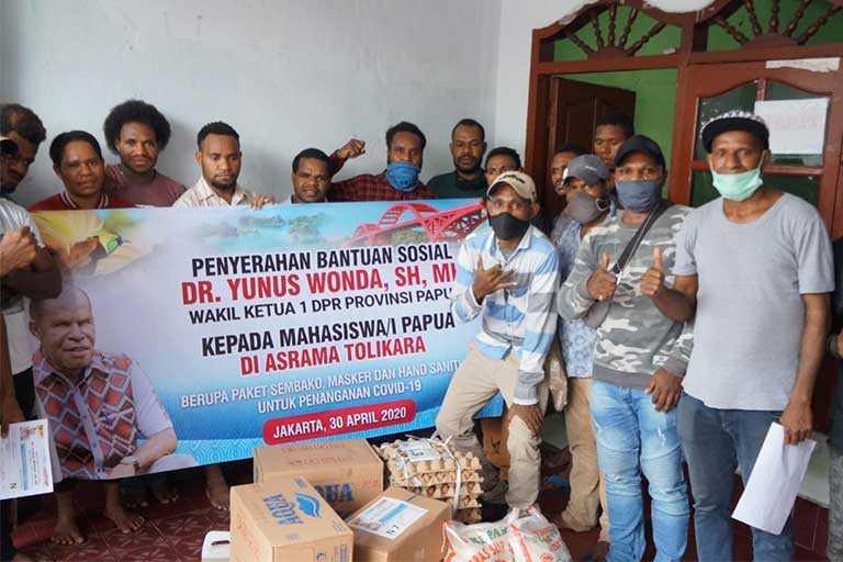 DPR Papua Kirimkan Bama