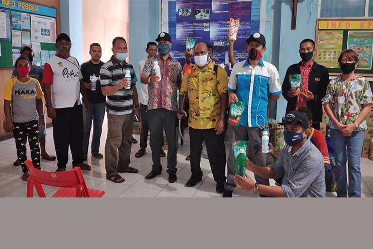 DKP Papua Bagikan Sembako