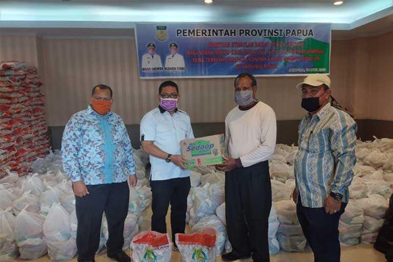 Pemprov Papua Telah Salurkan 9.251 Paket