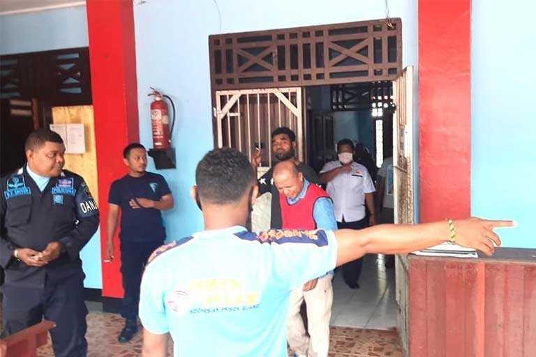Ketua KPU Supiori Berakhir Di Lapas Biak