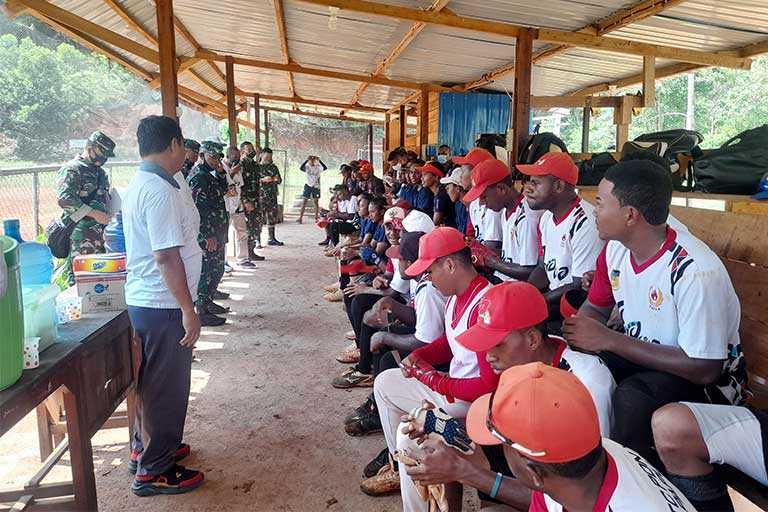 Atlet Perbasasi Mengadu ke Puslatprov Papua