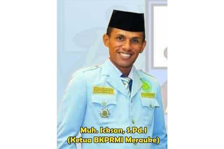 Ketua BKPRMI Merauke