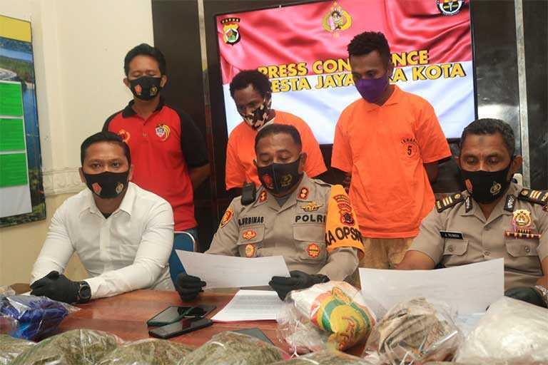 Jayapura Polisi Ungkap 47 Kasus Narkoba