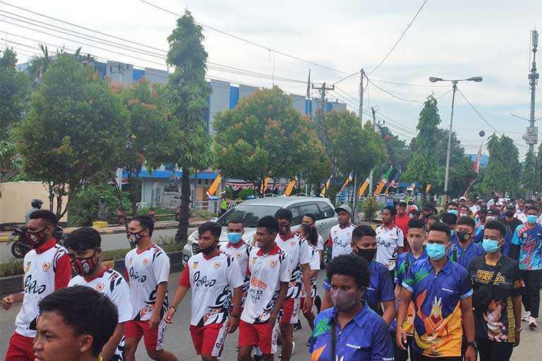 Pengurus Koni dan Atlet Papua