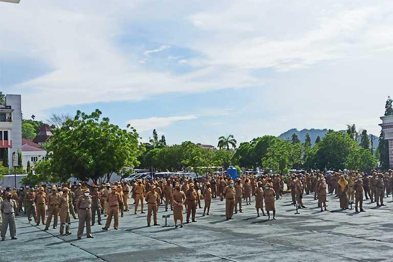 ASN Papua Terpapar Corona