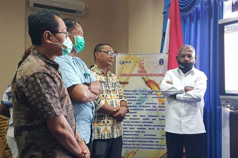 Pemkab Jayapura Launching Aplikasi Simada