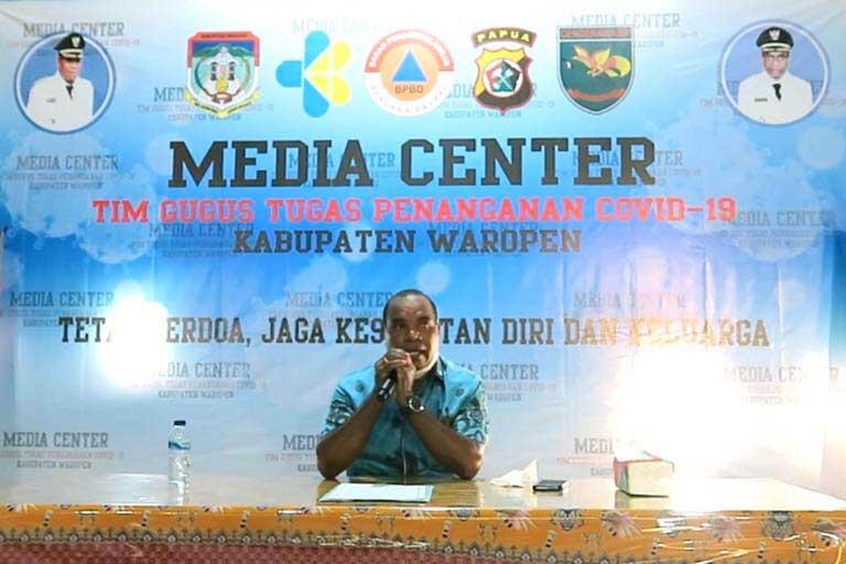 Hasil LABKESDA Provinsi Papua Terhadap Kasus Positif dan OTG di Waropen Negatif